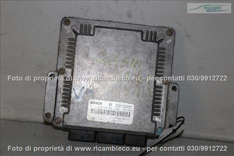 Opel VIVARO (99>06<)(06>13<) Centralina iniezione 1.9 CDTI BOSCH 0281010320 #3