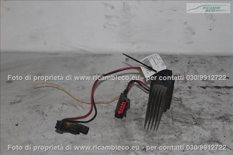 Renault MEGANE (02>05<)(06>08<) Resistenza motorino ventilazione abitacolo (pettine spina verde)  #2