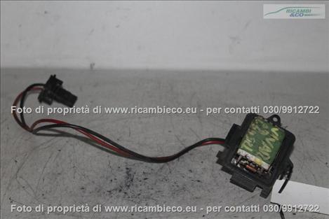 Opel VIVARO (99>06<)(06>13<) Resistenza motorino ventilazione abitacolo  #1