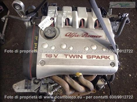 Alfa GT (03>11<) Motore (1.8 16V T.S.) AR32205 (103kw) AR32205 #7