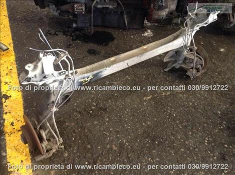 Renault MEGANE (08>10<) Assale post. Dischi C/Abs 1.5 DCI Berlina  #1