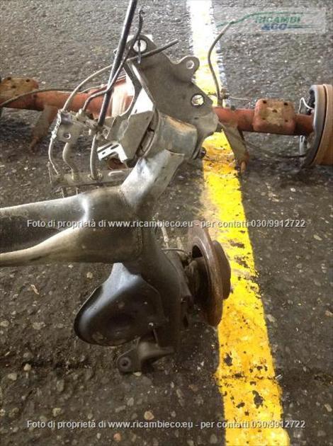 Renault MEGANE (08>10<) Assale post. Dischi C/Abs 1.5 DCI Berlina  #5